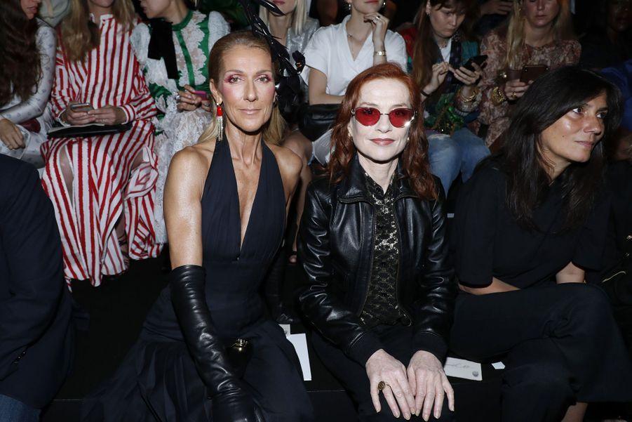 Céline Dion et Isabelle Huppert