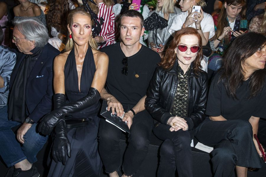 Céline Dion, Pepe Munoz et Isabelle Huppert