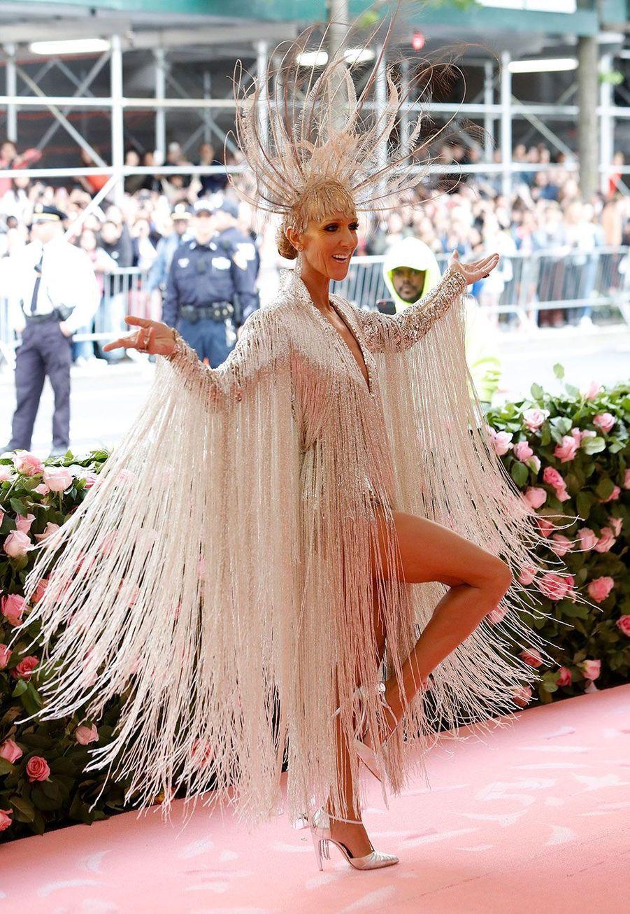 Céline Dion au MET Gala, lundi, à New York