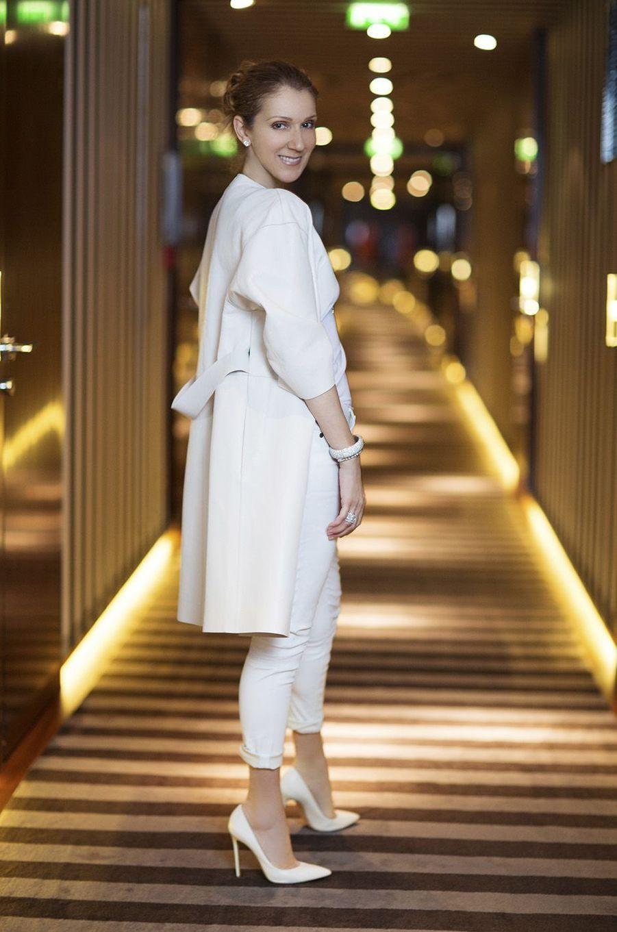 Lors de son passage à Paris en juin 2016, Céline Dion avait accordé une entretien exclusif à Paris Match.