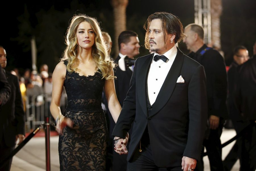 Amber Heard et Johnny Depp (2012-2016)