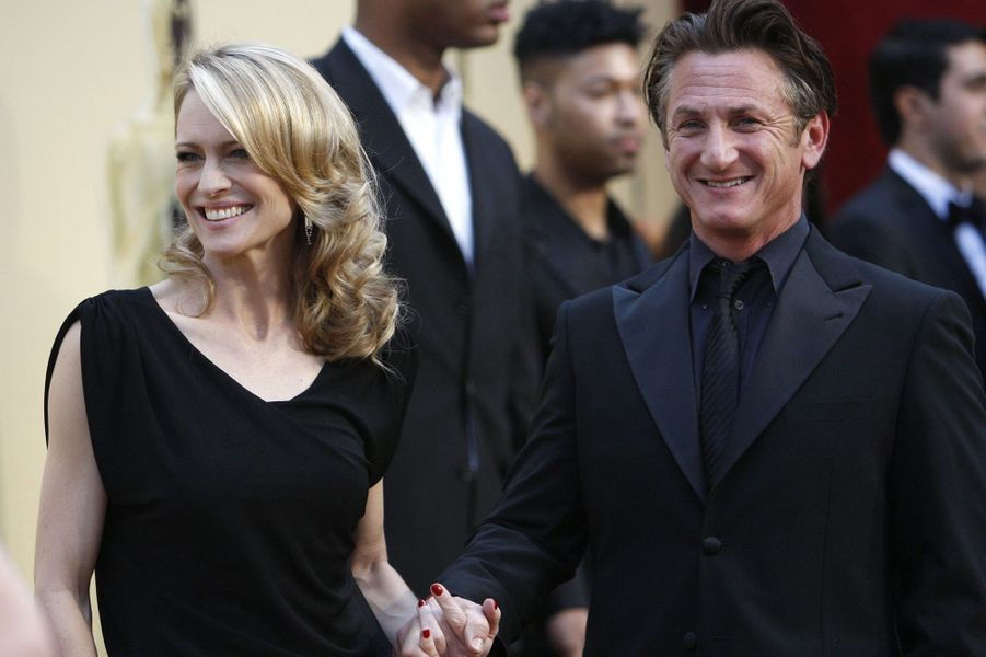 Sean Penn et Robin Wright (1990-2010)