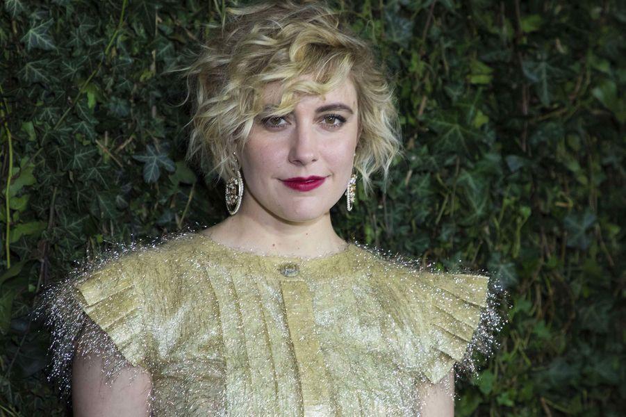 "Greta Gerwig (Londres, le 18 février 2018)2008: ""Nights and Weekends""(co-réalisé avecJoe Swanberg)2017: ""Lady Bird"""