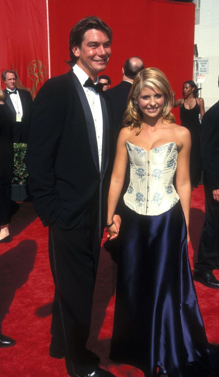 Jerry O'Connell et Sarah Michelle Gellar en 1998. Une romance qui a duré moins d'un an.