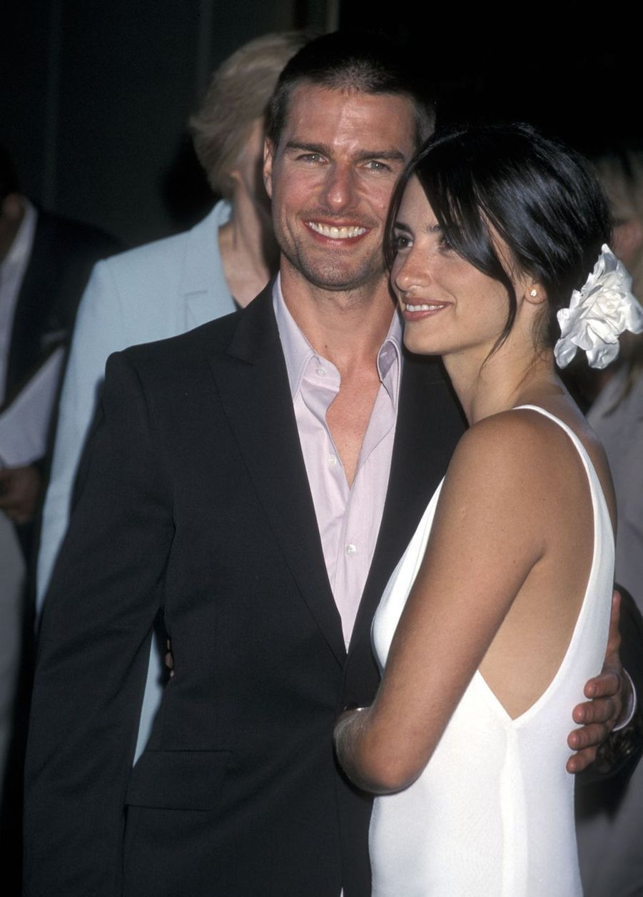 Tom Cruise et Penélope Cruz en 2001. Trois ans de romance avant la rupture en 2004.