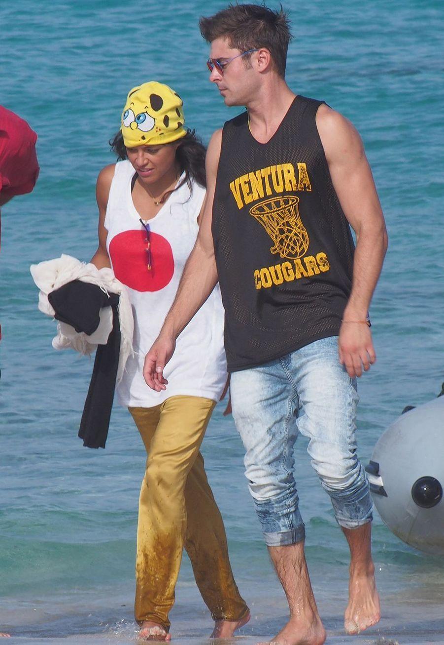 Zac Efron et Michelle Rodriguez se sont fréquentés quelques semaines en 2014