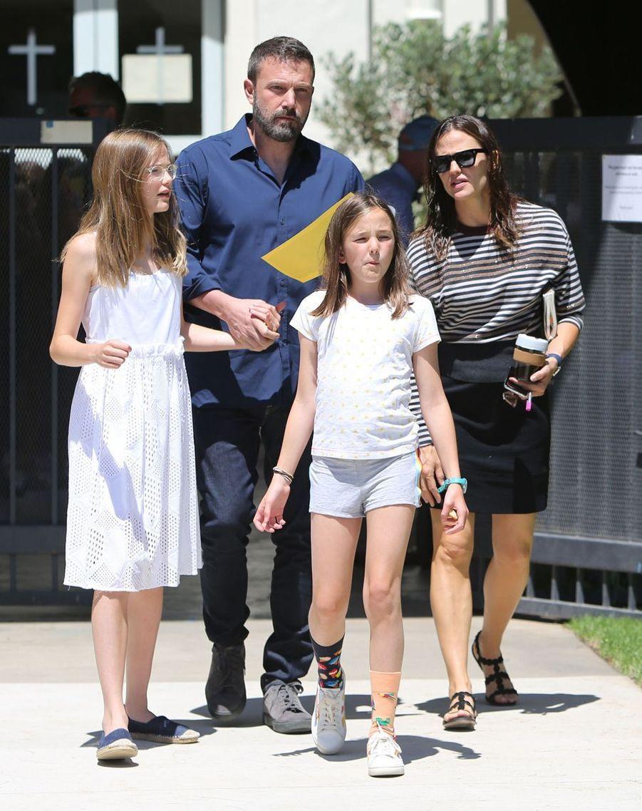 Jennifer Garner et Ben Affleck ont rompu en 2015 et ont eu trois enfants ensemble