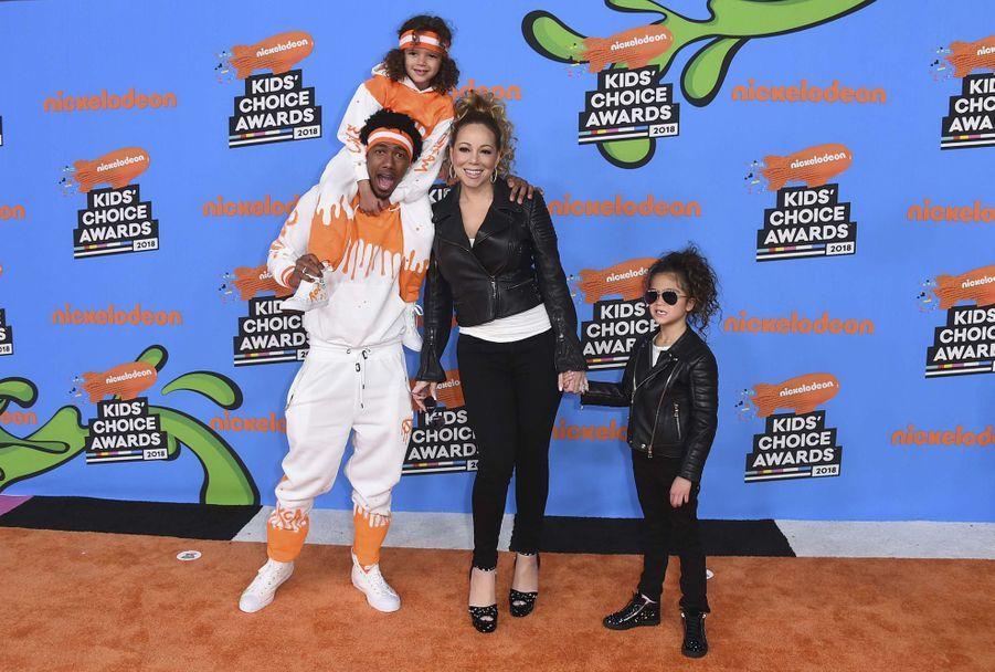 Mariah Carey et Nick Cannon ont rompu en 2014 et ont eu deux enfants ensemble