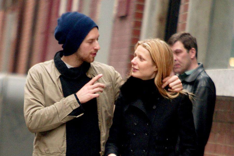 Gwyneth Paltrow et Chris MartinIls se sont séparé en 2014, mais le divorce n'est acté que cette année.