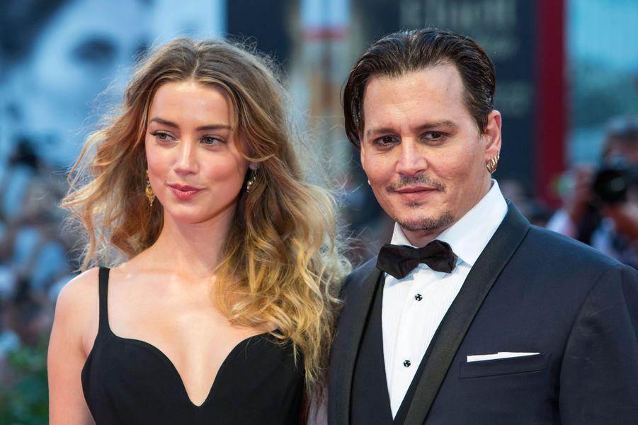 Johnny Depp et Amber HeardAprès 15 mois de mariage, le couple a divorcé cet été.