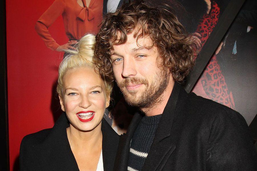 Sia et Erik LangIls sont restés mariés pendant 2 ans