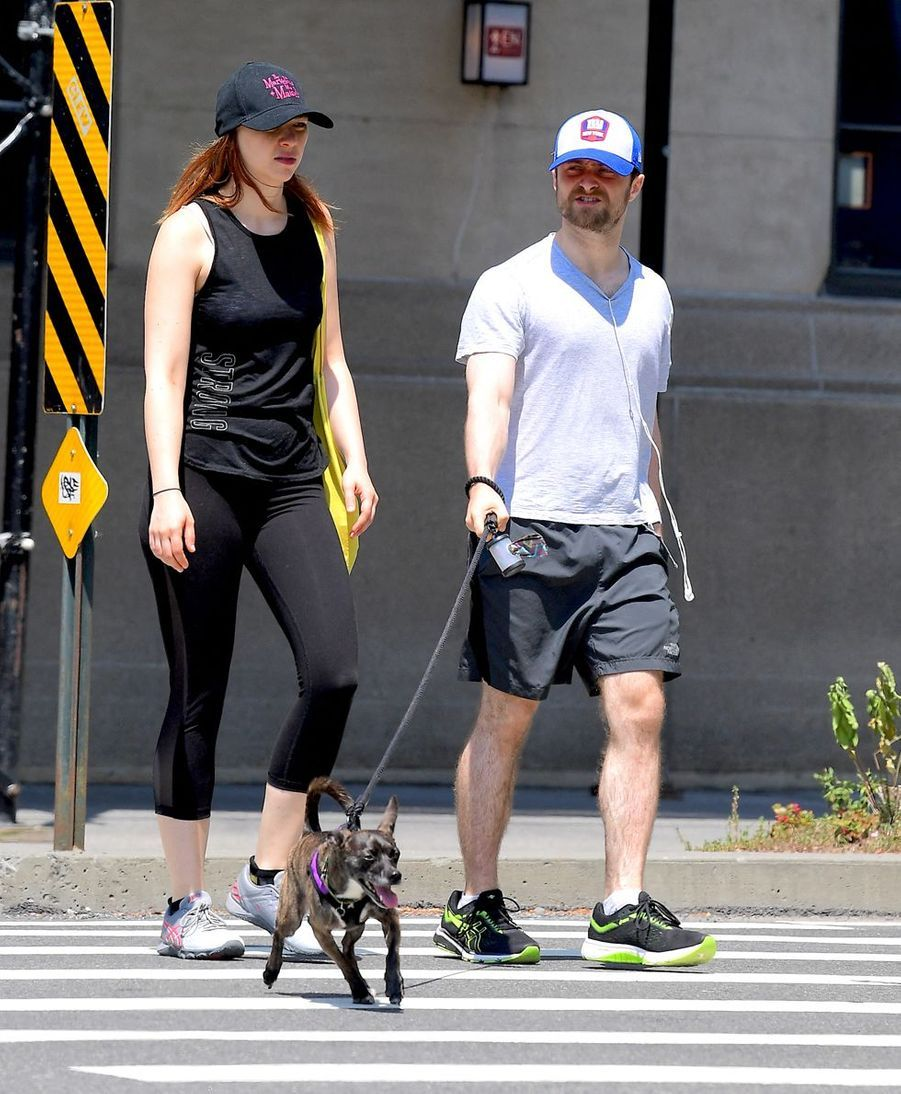 Erin Darke et Daniel Radcliffe