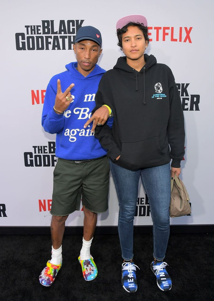 Helen Lasichanh et Pharrell Williams