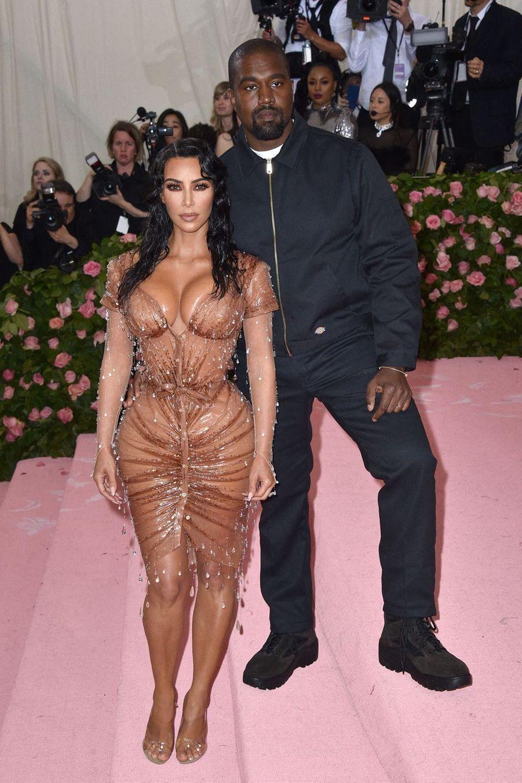 Kim Kardashian et Kanye West ont organisé l'une des fêtes de leur mariage à Versailles en 2014.