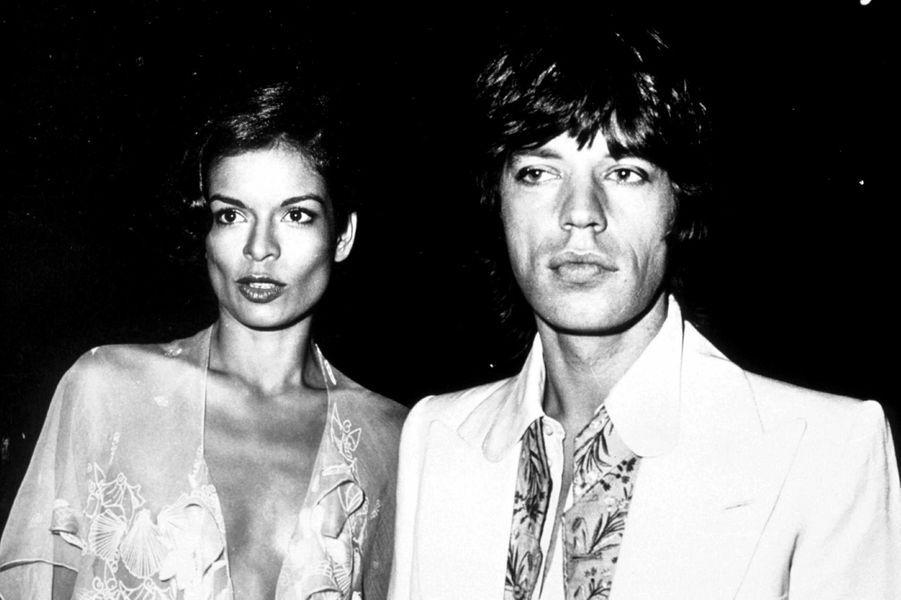 Mick Jagger et Bianca se sont mariés à Saint-Tropez en 1971.