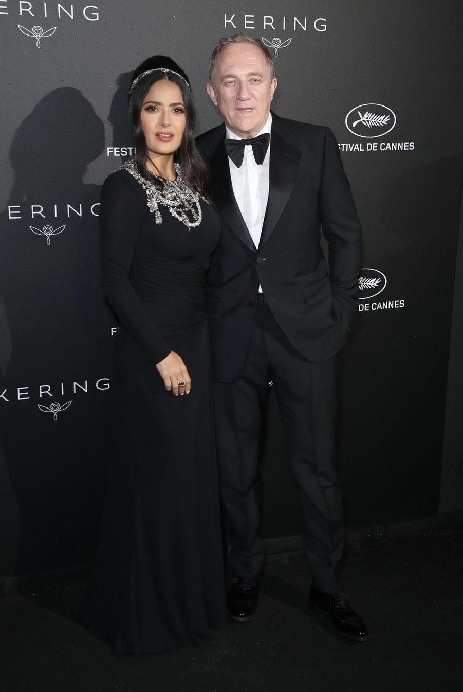 Salma Hayek et François-Henri Pinault se sont mariés à Paris en 2009.