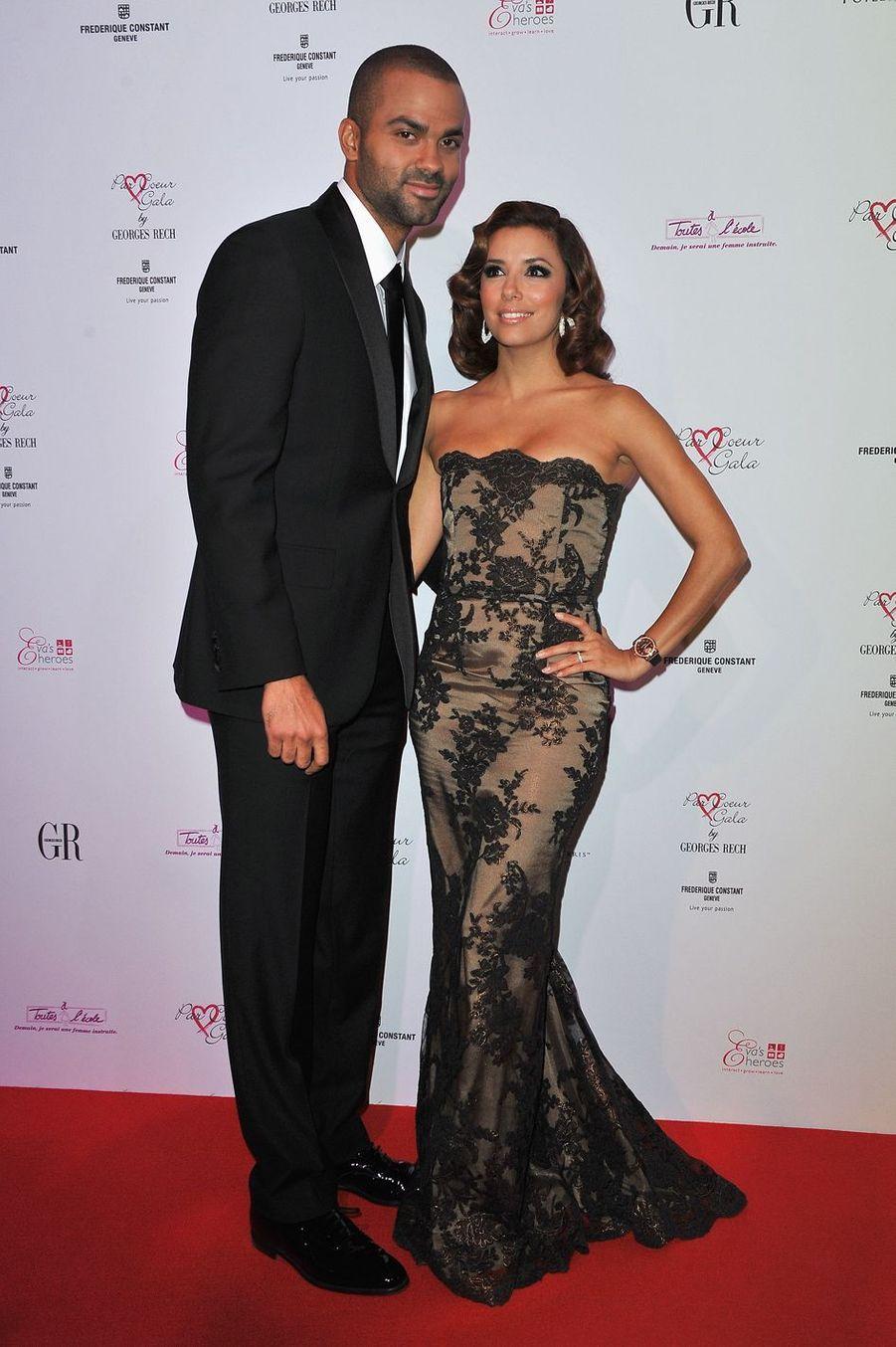 Tony Parker et Eva Longoria se sont mariés à Paris en 2007.