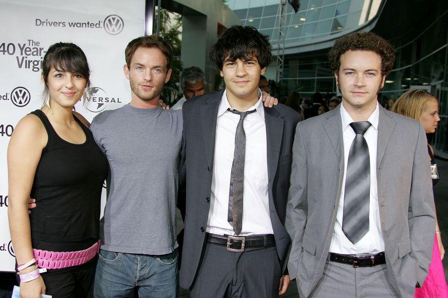 Alanna, Christopher, Jordy et Danny Masterson (ici en 2005) sont tous des membres éminents de l'Église de scientologie, élevés au sein de l'organisme par leur mère.