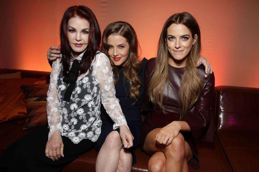 Priscilla Presley, Lisa Marie Presley et Riley Keough ont toutes été des membres actives de l'Eglise de scientologie. Selon des rumeurs, elles n'en feraient cependant plus partie.