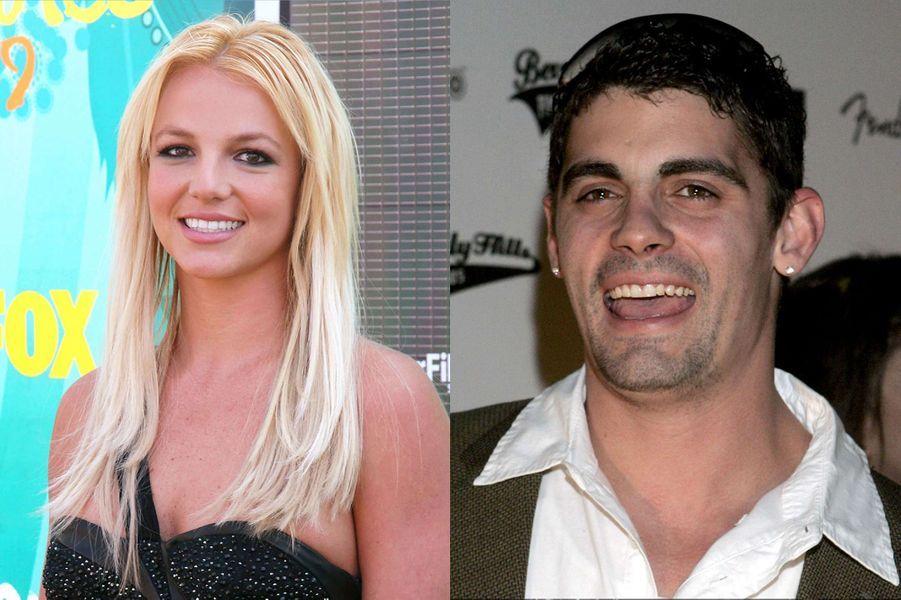 La pop star Britney Spears a épousé son amour d'enfance Jason Alexander (ici en 2006) lors d'une cérémonie express à Las Vegas en janvier2004. L'union a été annulée après quelques heures.