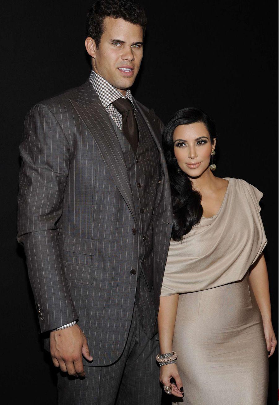 Avant d'épouser Kanye West en 2014, Kim Kardashian s'est mariée en 2011 au joueur de basket-ball Kris Humphries. Leur mariage n'a duré que dix semaines.