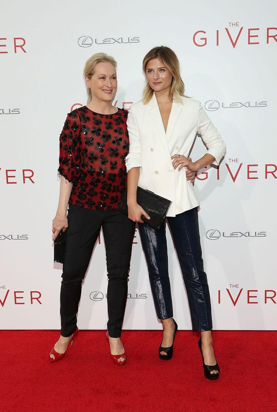 Meryl Streep a donné naissance à son quatrième enfant, Louisa Gummer, à 42 ans.