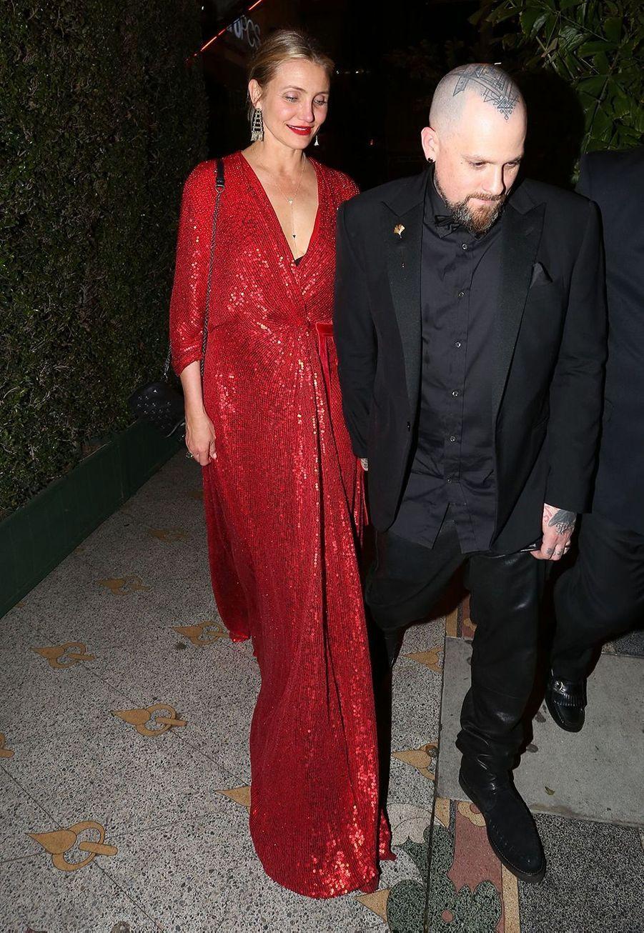 Cameron Diaz et Benji Madden se sont mariés en janvier 2015,en toute discrétion dansleur maison de Los Angeles, en compagnie de leurs familles et de quelques amis, selon les informations récoltées par E! News.