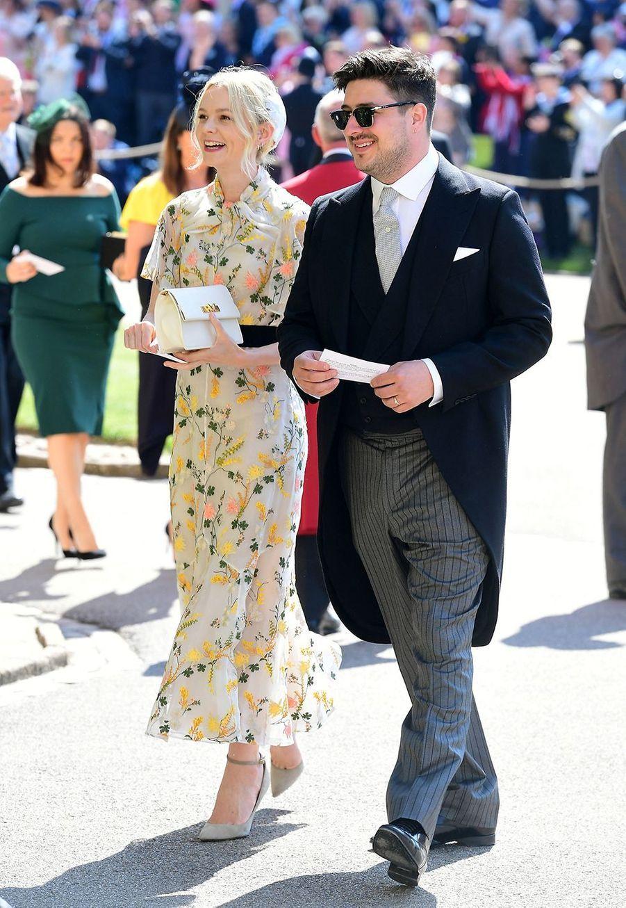 Carey Mulligan et Marcus Mumfordse sont mariés en avril 2012dans une ferme du Somerset en Angleterre, devant plus de 200 invités, comme l'avait révélé le«Daily Mail» quelques jours après la cérémonie.