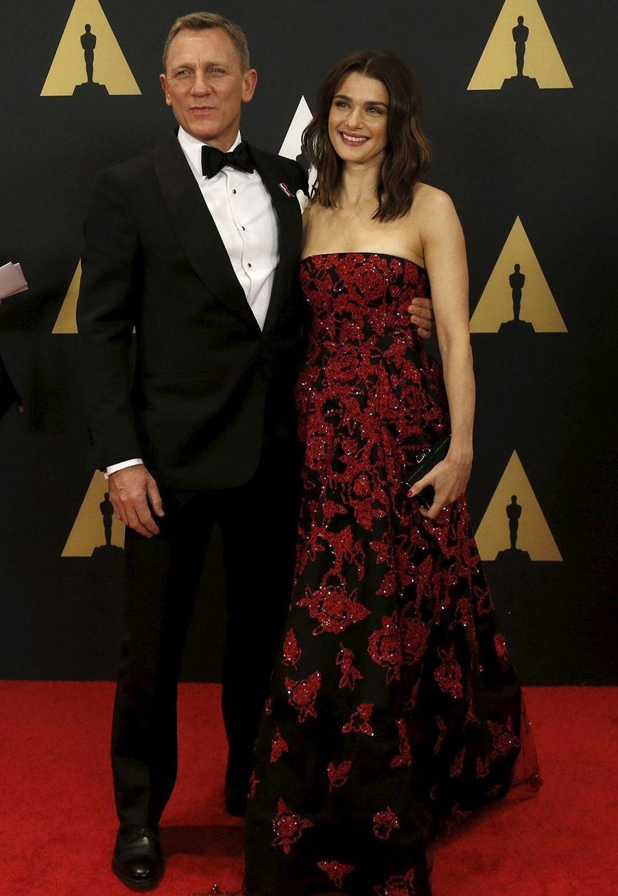 Daniel Craig et Rachel Weiszse sont mariés à New York en juin 2011, devant quatre invités seulement (leurs enfants et deux amis qui faisaient office de témoins), selon le magazine«People».