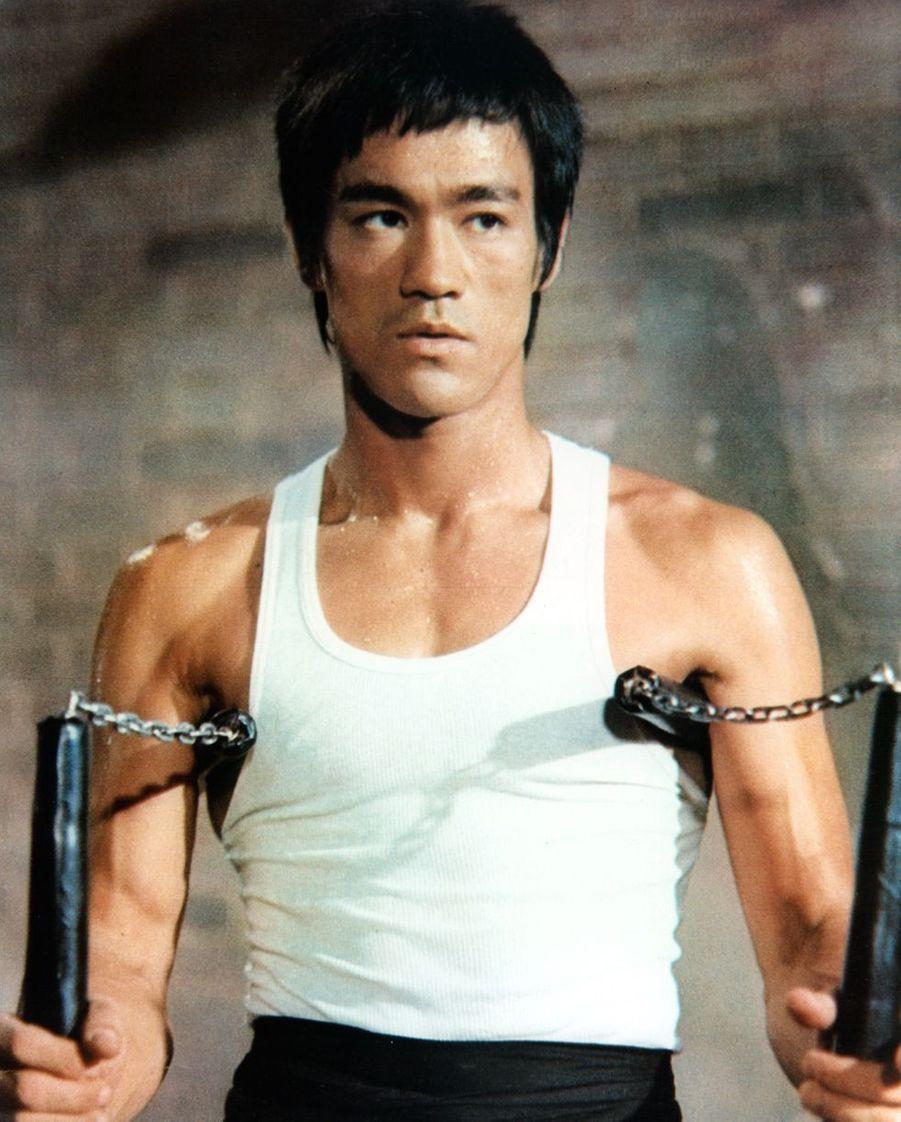 Bruce Lee en 1972. L'acteur de légende est mort en 1973 à 32 ans à la suite d'unœdème cérébral.