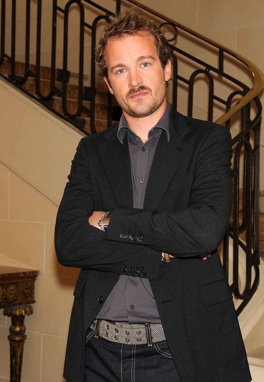Jocelyn Quivrin en 2008. L'acteur est mort en 2009 à l'âge de 30 ans à la suite d'un violent accident de voiture.