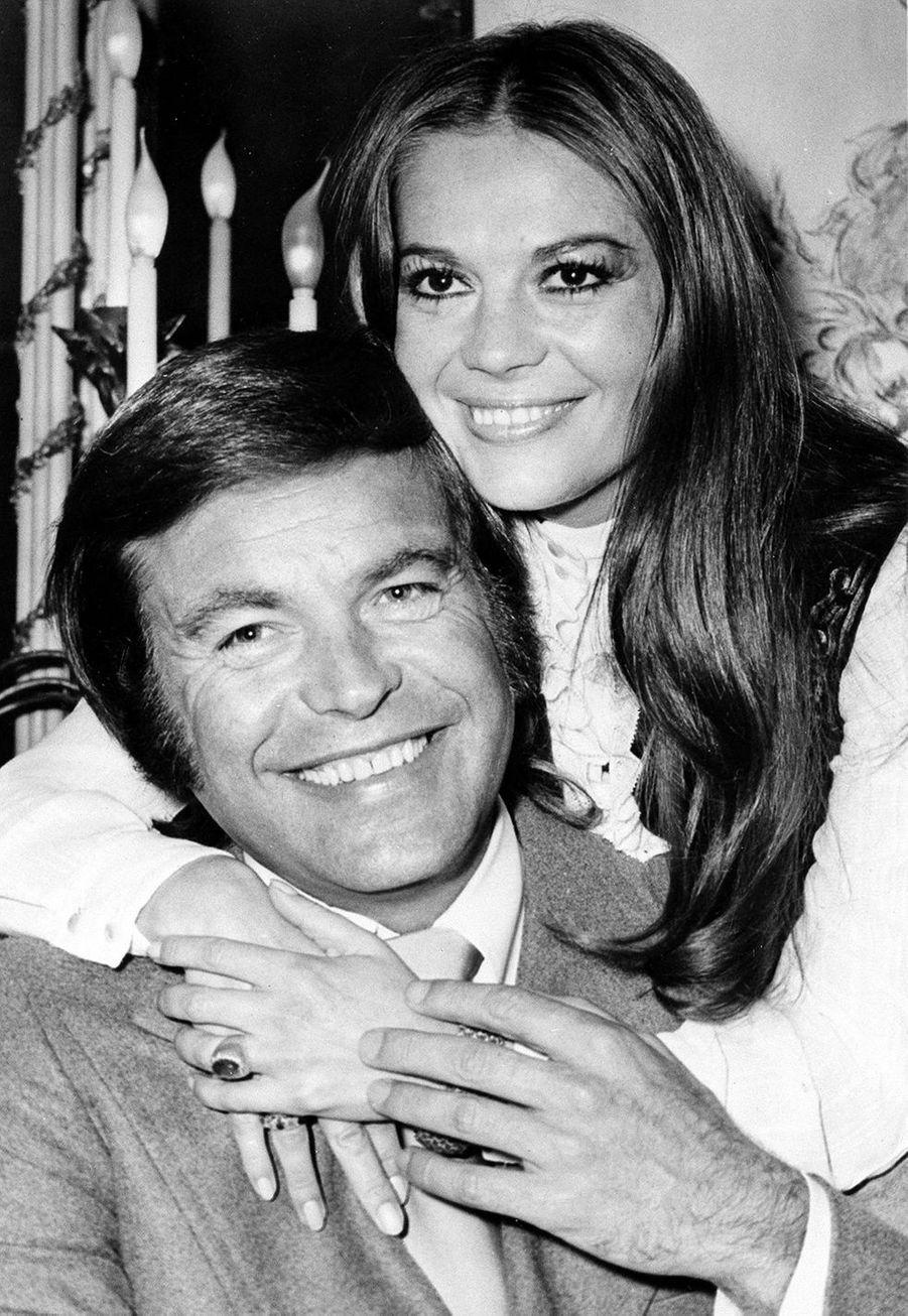 Natalie Wood avec son mari Robert Wagner en 1972. L'actrice est morte à 43 ans en 1981 lors d'une noyade suspecte. Son époux, qui nie toute responsabilité, a été désigné en 2018 «personne d'intérêt» par les autorités.