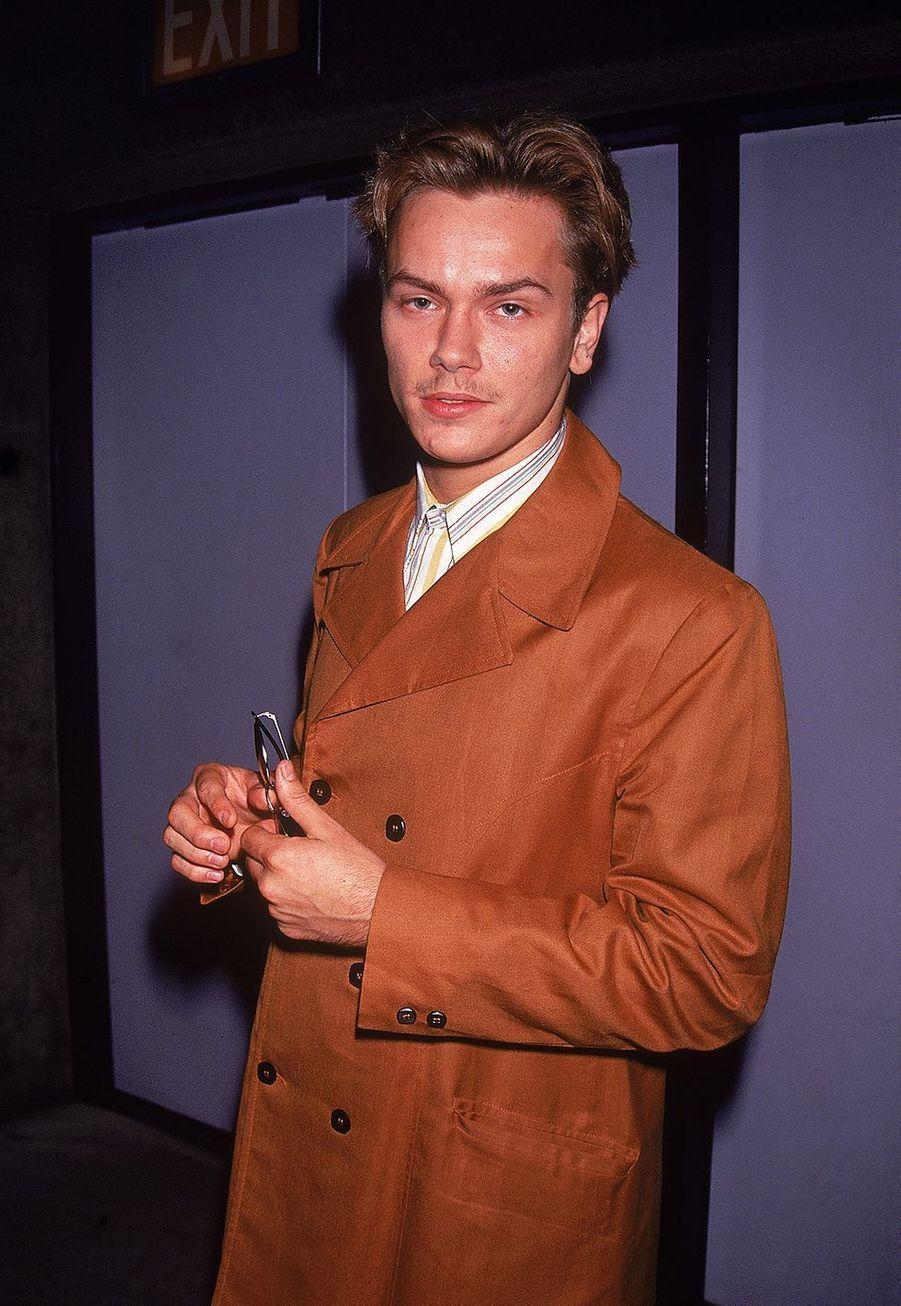 River Phoenix en 1991. L'acteur est mort en 1993 à 23 ans des suites d'une overdose de cocaïne et d'héroïne.