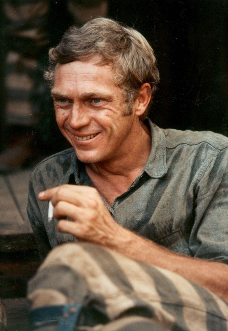 Steve McQueen en 1966. L'acteur est mort à 50 ans en 1980 des suites d'un cancer des poumons.