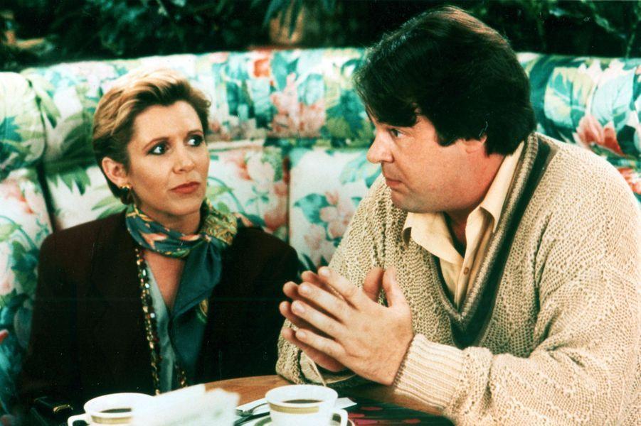 Carrie Fisher et Dan Aykroyd se sont rencontrés en 1978 sur le plateau du «SNL». Ils ont collaboré ensuite dans les film «Les Blues Brothers» (1980), où ils sont tombés amoureux. Brièvement fiancés, ils ont rompu quelque temps plus tard lorsque l'actrice l'a quitté pour le chanteur Paul Simon, avec lequel elle avait été mariée entre 1983 et 1984. Ils étaient toutefois restés amis, ayant travaillé à nouveau ensemble dans«Ma vie est une comédie» (1992).