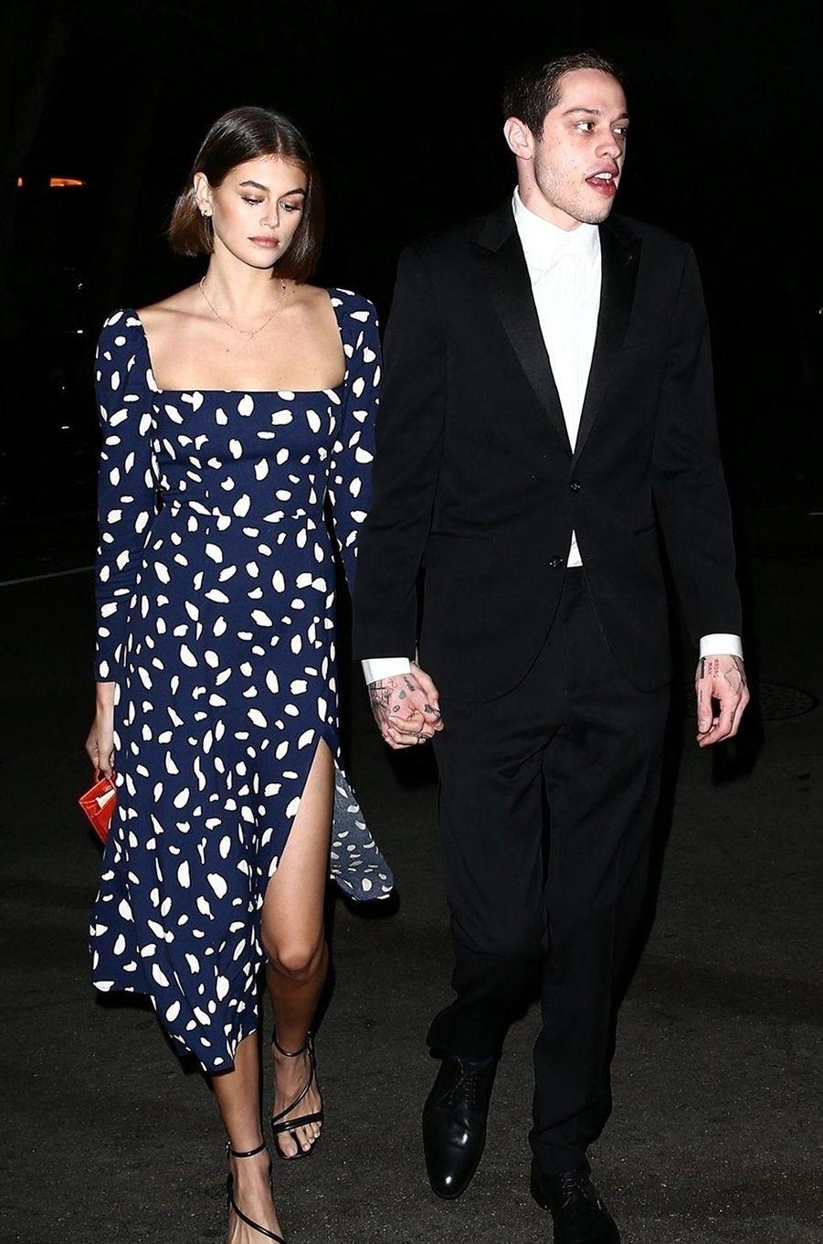 Pete Davidson est également sorti avec Kaia Gerber, la fille de Cindy Crawford. Après trois mois de romance, le couple était séparé en janvier 2020.