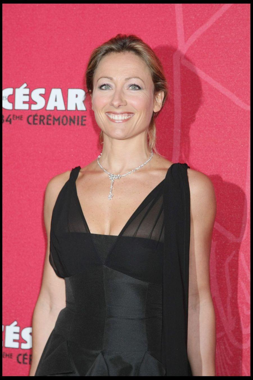 Anne-Sophie Lapixlors de la 34e cérémonie des César à Paris, le 27 février 2009