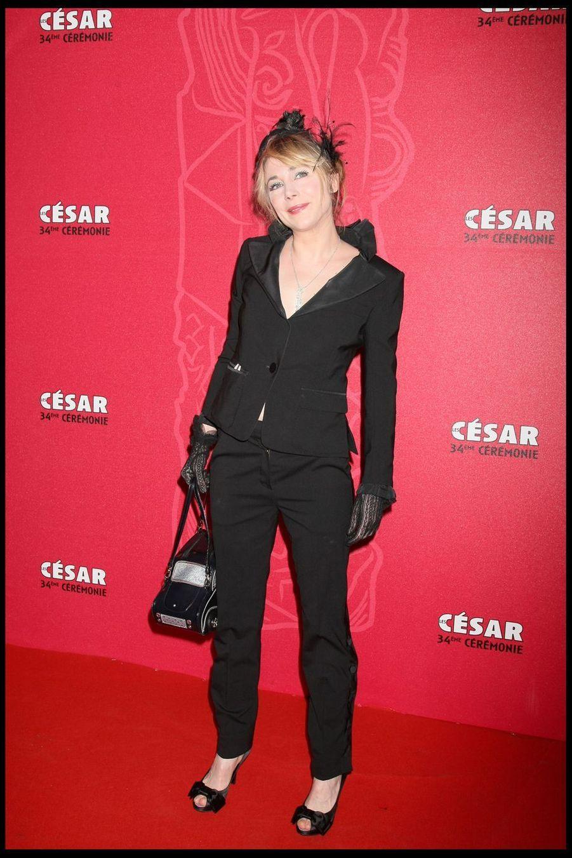 Julie Depardieulors de la 34e cérémonie des César à Paris, le 27 février 2009