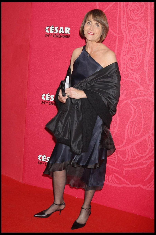 Christine Albanellors de la 34e cérémonie des César à Paris, le 27 février 2009