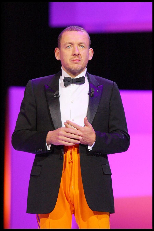 Dany Boon lors de la 34e cérémonie des César à Paris, le 27 février 2009