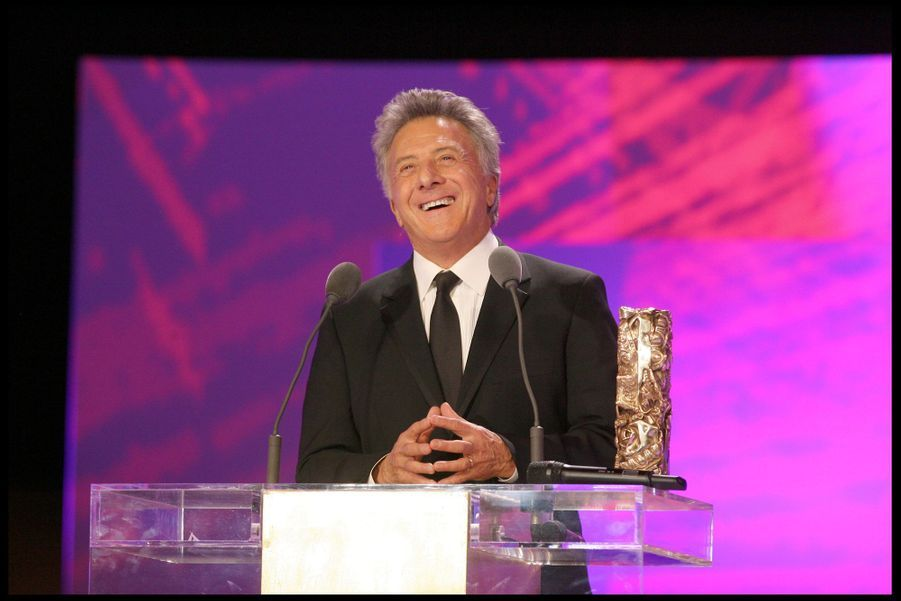 Dustin Hoffman (César d'honneur) lors de la 34e cérémonie des César à Paris, le 27 février 2009