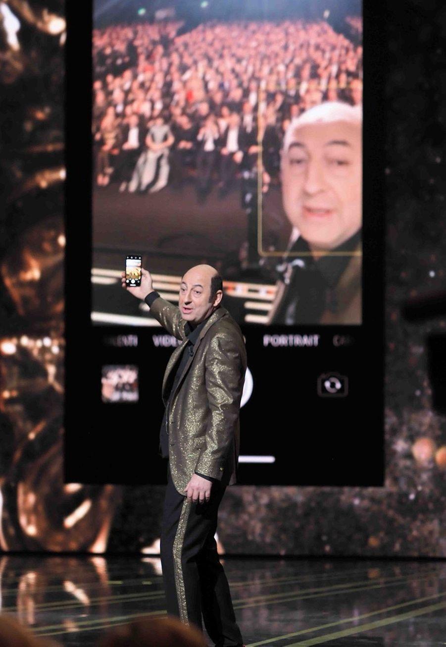 Kad Meradlors de la cérémonie des César à la Salle Pleyel à Paris le 22 février 2019