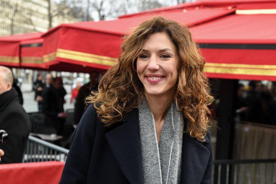 Doria Tillierau déjeuner des nommés des César au Fouquet's à Paris le 9 février 2020