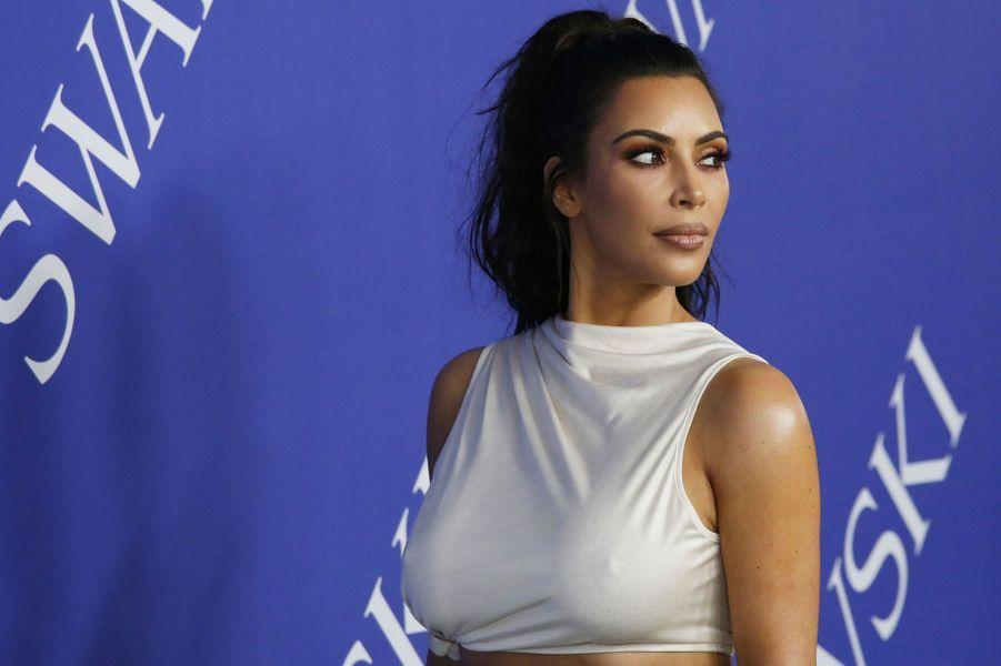 Kim Kardashian aux CFDA Fashion Awards le 4 juin 2018