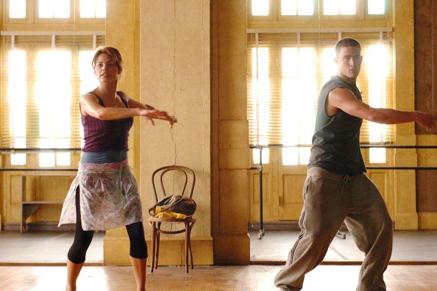 "Channing Tatum et Jenna Dewan dans ""Sexy Dance"" en 2006"