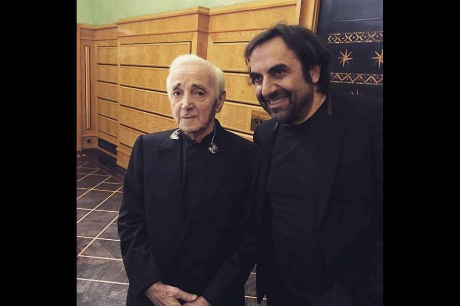 Le 14 mars, avec André Manoukian, au Concert de la francophonie. Cette année, l'Arménie était à l'honneur.