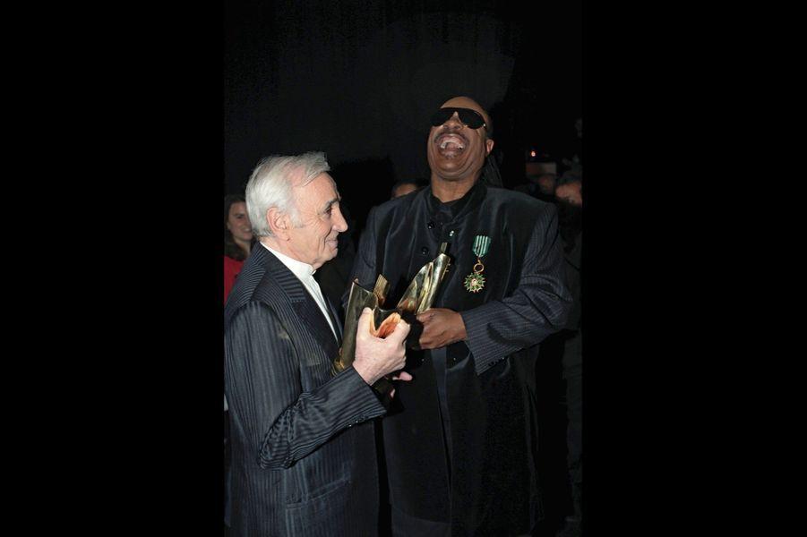 Le 6 mars 2010. Aux 25es Victoires de la musique au Zenith, il remet un prix d'honneur à Stevie Wonder pour l'ensemble de son oeuvre.