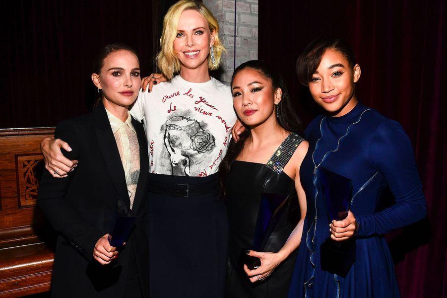 Natalie Portman, Charlize Theron, Constance Wu et Amandla Stenberg