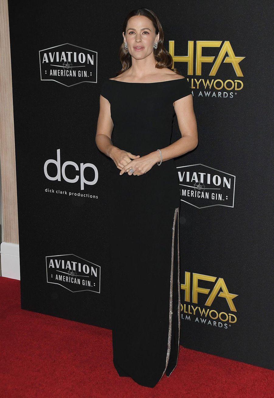 Jennifer Garnerlors des 23èmeHollywood Film Awards à Beverly Hills, le dimanche 3 novembre 2019.