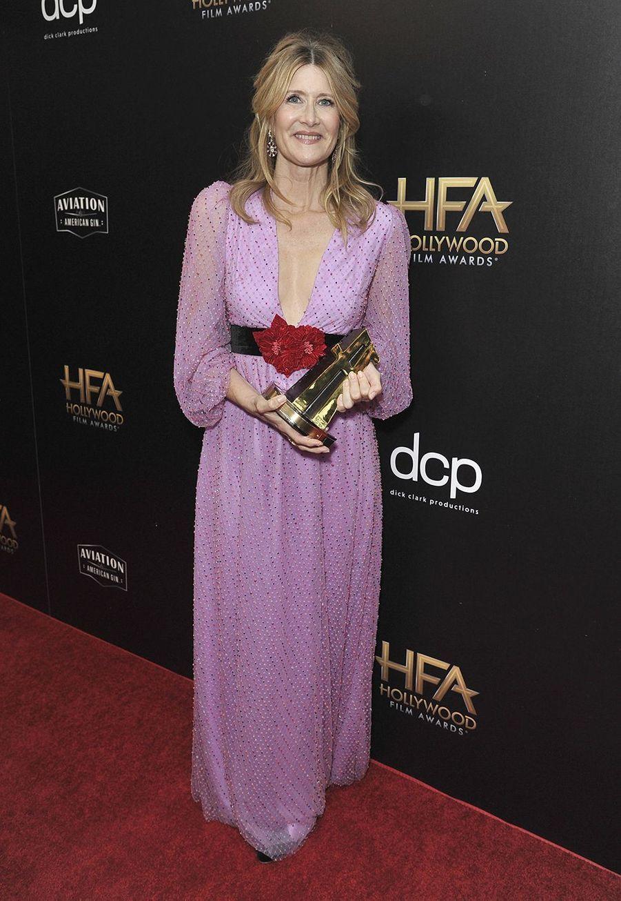Laura Dernlors des 23èmeHollywood Film Awards à Beverly Hills, le dimanche 3 novembre 2019.